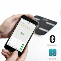"mbeat ""actiVIVA"" Bluetooth BMI and Body Fat Smart Scale with Smartphone APP"