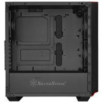 Silverstone PM02B-G Primera Black Tempered Glass ATX Case No PSU