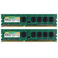 Silicon Power 8GB Kit (2x4G) DDR3-1600MHz PC3-10600 1.5V CL11 (240 pins)
