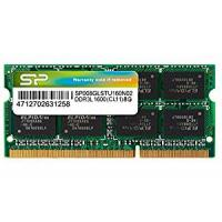 Silicon Power 8GB DDR3-1600MHz PC3-10600 1.35V CL11 (240 pins) SO Dimm Ram