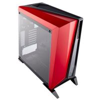 Corsair Carbide Series SPEC-OMEGA Mid-Tower Tempered Glass Gaming Case, Black and Red