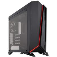 Corsair Carbide Series SPEC-OMEGA Mid-Tower Tempered Glass Gaming Case, Black