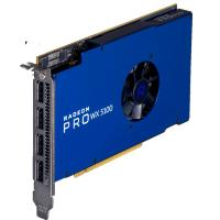 AMD PCIE Radeon Pro WX5100 8GB DDR5 4H (4x DP) Single Slot Half Length