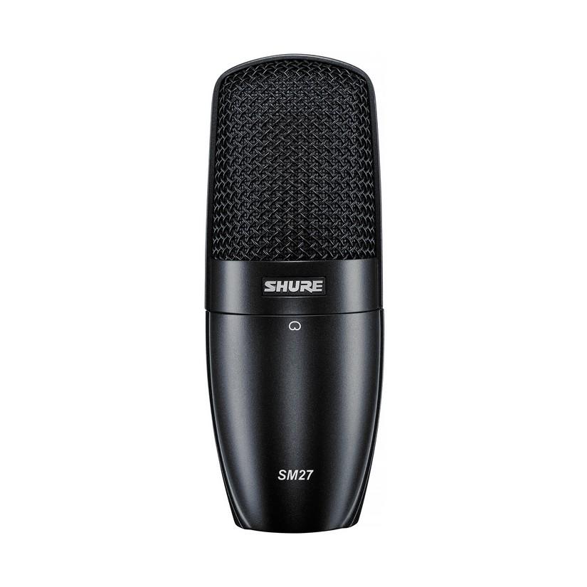 Shure SM27 Studio Condenser Cardioid Microphone