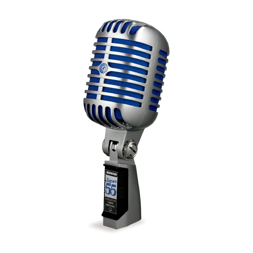 Shure Super 55 Classic Birdcage-Style Dynamic Microphone