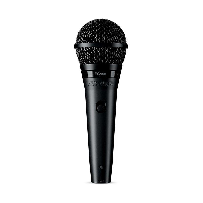 Shure PGA58XLR Vocal Cardioid Microphone With XLR - XLR Cable