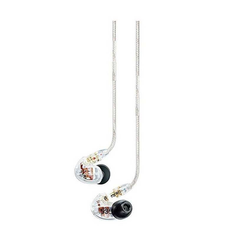 Shure SE535 Clear Earphones Sound Isolating
