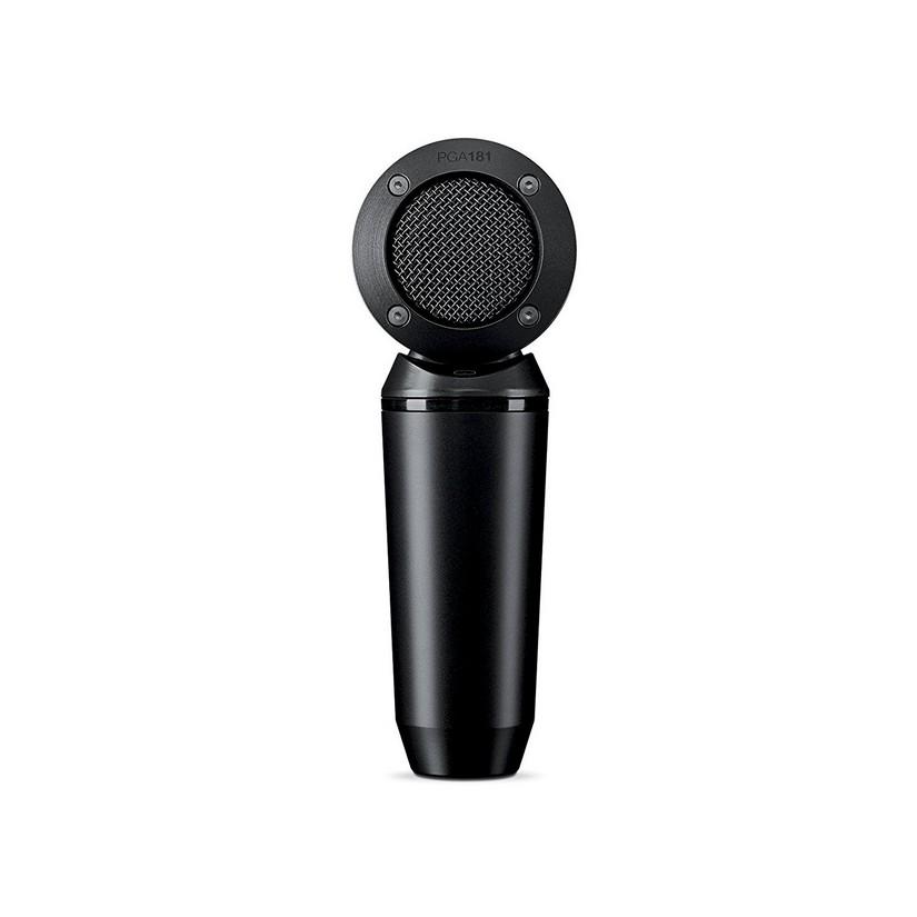 Shure PGA181XLR Microphone Condenser Lo Z Side Address Cardioid + XLR-XLR Cable