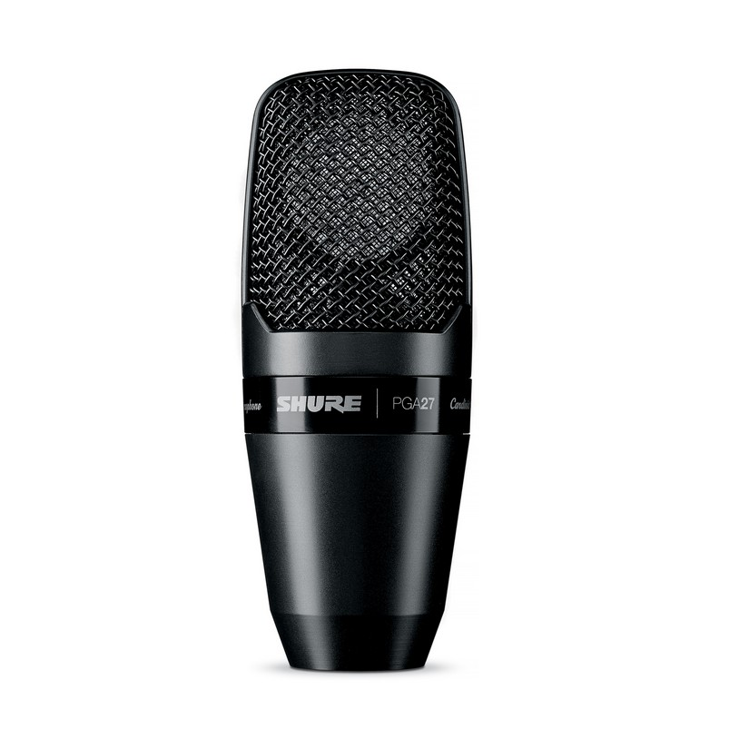 Shure PGA27LC Microphone Condenser Lo Z Instrument Cardioid Side Address XLR Output