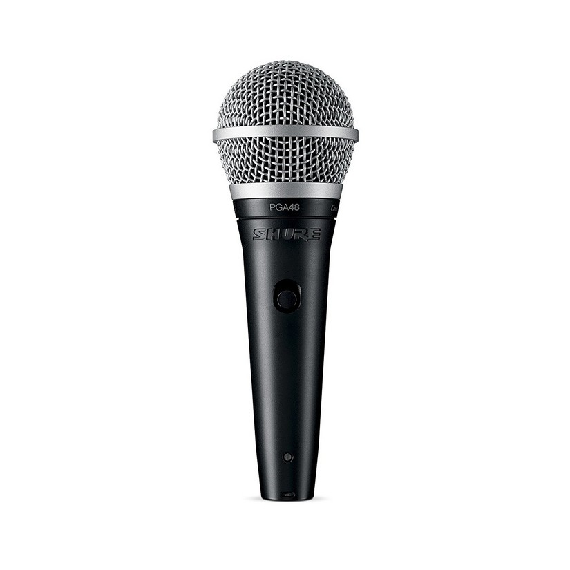 Shure PGA48QTR Microphone Dynamic Lo Z Vocal Cardioid XLR -QTR Cable