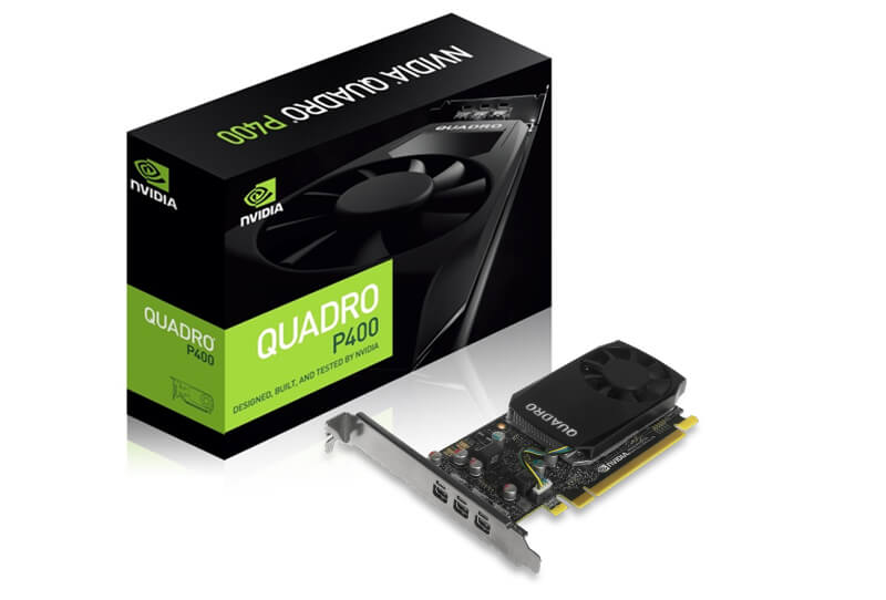 Leadtek Quadro P400 2GB DDR5 Low Profile Workstation Graphics Card
