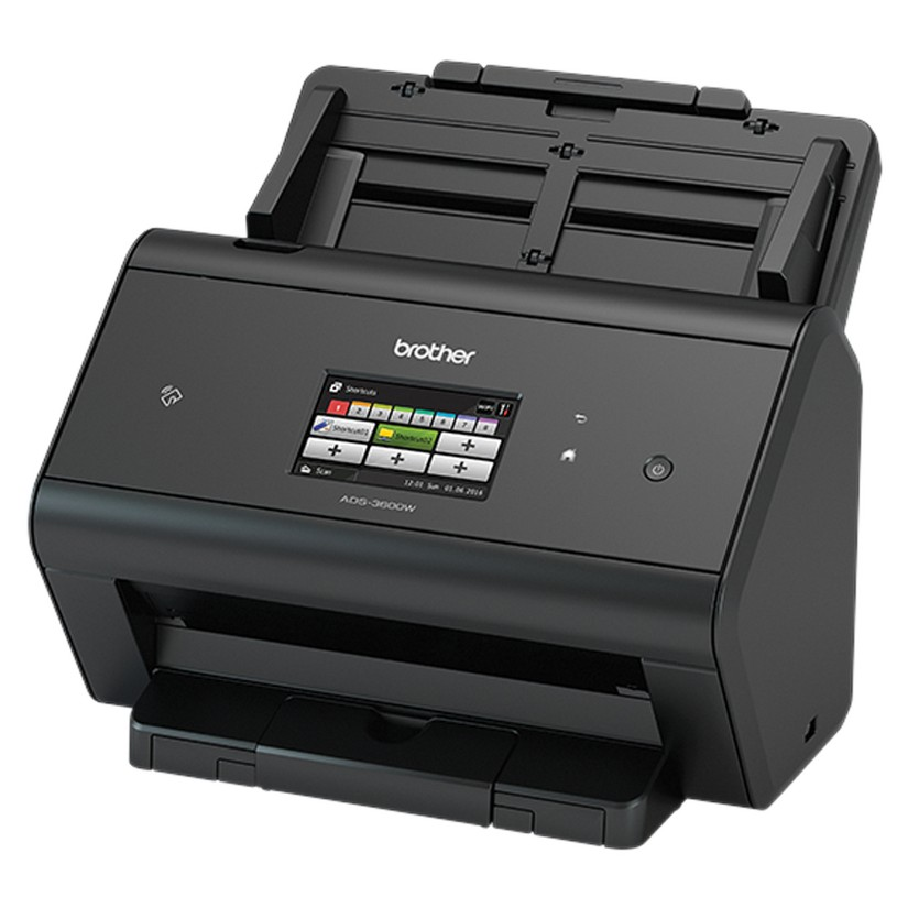 Brother ADS-3600W Advanced Document Scanner High Speed (50pp) network scanner touchscreen LCD & WiFi