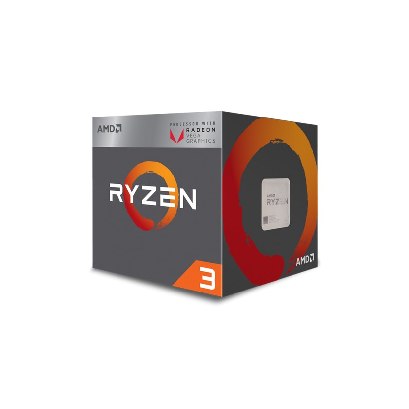 AMD Ryzen 3 2200G 4-Core Socket AM4 3.5GHz APU with Radeon Vega 8 Graphics