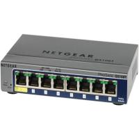 Netgear GS108T-200AUS,8-PORT FULL DUPLEX GIGABIT SMART SWITCH