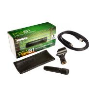 Shure PGA81XLR Studio Cardioid Instrument Microphone