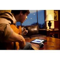 Shure Motiv MV5 Digital Condenser Black Microphone + USB & Lightning Cable
