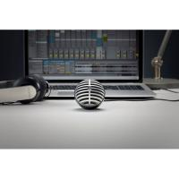 Shure Motiv MV5 Digital Condenser Red Microphone + USB & Lightning Cable