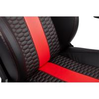 Corsair T2 Road Warrior High Back Desk and Office Chair Black/Red