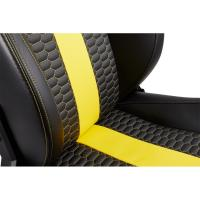 Corsair T2 Road Warrior High Back Desk and Office Chair Black/Yellow