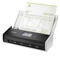 Brother ADS-1600W Compact Document Scanner with Touchscreen LCD display & WiFi