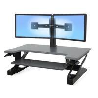 Ergotron Workfit Dual Monitor Kit