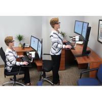 Ergotron Workfit S Dual Monitor Kit