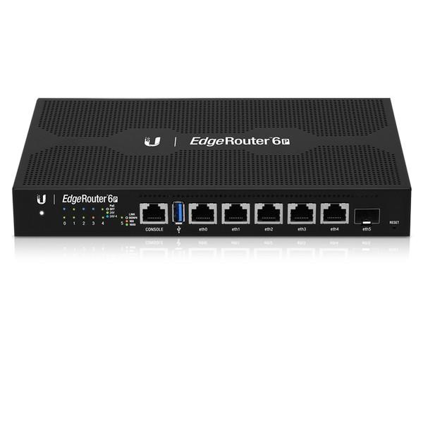 Ubiquiti EdgeRouter 6-Port Gigabit Router with 1 SFP Port