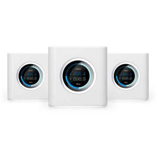 Ubiquiti 3 Router Bundle AmpliFi High Density HD Home Wifi Router