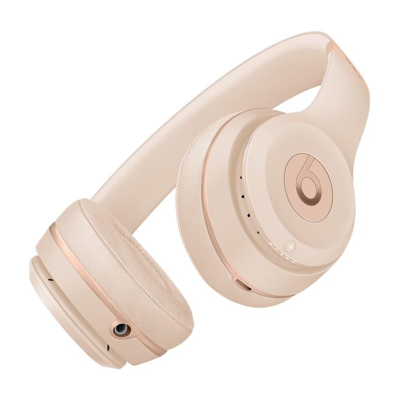 Beats by Dre Solo 3 Wireless Headphones Matte Gold