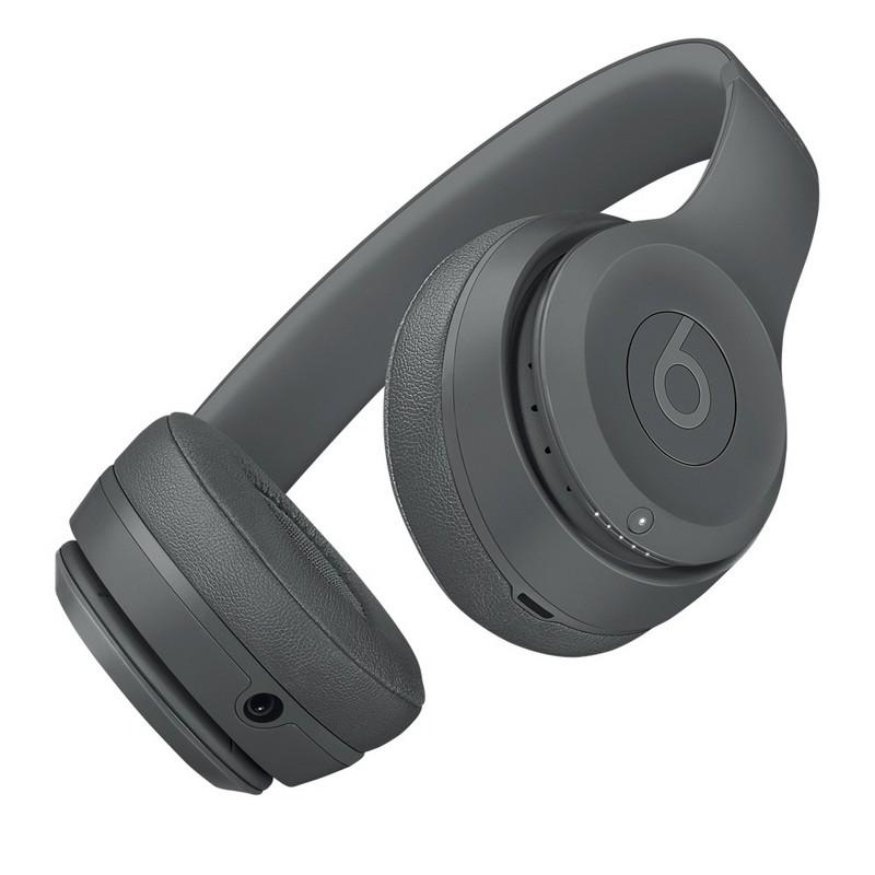 ab54c20248e Beats by Dre Solo 3 Wireless Headphones Neighbourhood Collection Asphalt  Gray