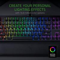 Razer BlackWidow Tournament Edition Chroma V2 Mechanical Gaming Keyboard Yellow Switch