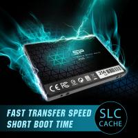 """Silicon Power 256GB SSD 3D NAND With R/W Up To 550/450MB/s A55 SLC Cache Performance Boost SATA III 2.5"""" 7mm (0.28"""") Int"""