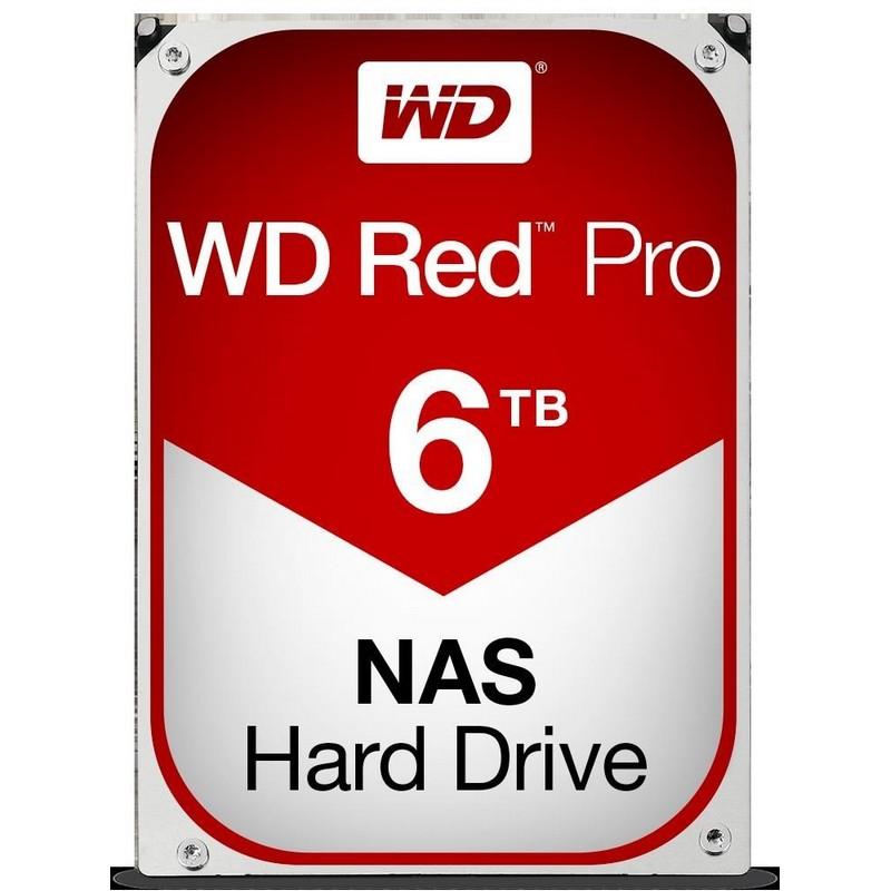 Western Digital NAS WD6003FFBX 6TB RED PRO 256MB 3.5IN SATA 6GB/S 7200RPM