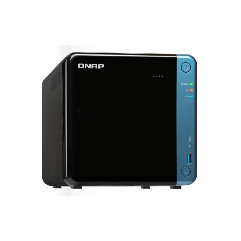 Qnap TS-453BE-4G NAS 4BAY (N O DISK)4GB CEL-J3455 USB 3.0(5) GbE PCIe(1) HDMI TWR