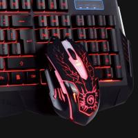 Marvo Scorpion KM400 + G1 USB Gaming Keyboard, Mouse and Mouse Pad Combo