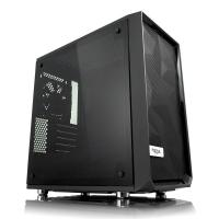 Fractal Design Meshify C Mini Blackout Dark Tempered Glass