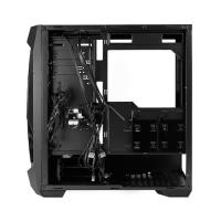 Antec DF500 RGB Case Tempered Glass RGB Control Button Support ATX microATX ITX MB