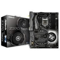 ASRock Z370-TAICHI DDR4 4333+ 3 PCIe 3.0 x16, 2 PCIe 3.0 x1 HDMI/ DP 7.1 CH HD Audio 8 SATA3 USB 3.1