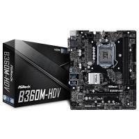 ASRock B360M-HDV LGA1151 Motherboard