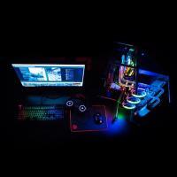 Thermaltake Tt Premium X1 RGB Cherry MX Blue Keyboard