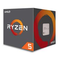 AMD Ryzen 5 2600X 6-Core Socket AM4 3.6GHz CPU Processor with Wraith Spire Cooler