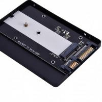 "Simplecom SA102 NGFF M.2 B Key to 7mm 2.5"" SATA Converter Enclosure Aluminium"