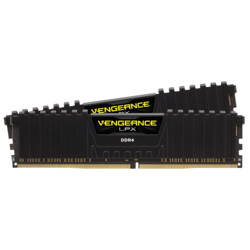 Corsair 8GB (2x4GB) CMK8GX4M2A2400C16 DDR4 2400MHz Vengeance LPX Black