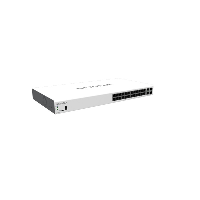 Netgear GC728X-100AJS Insight Managed 28-port Gigabit Ethernet Smart Cloud Switch with 2 SFP and 2