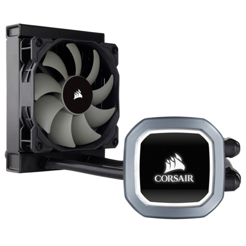 Corsair Cooling Hydro Series H60v2 with illuminated LED CPU Cooler