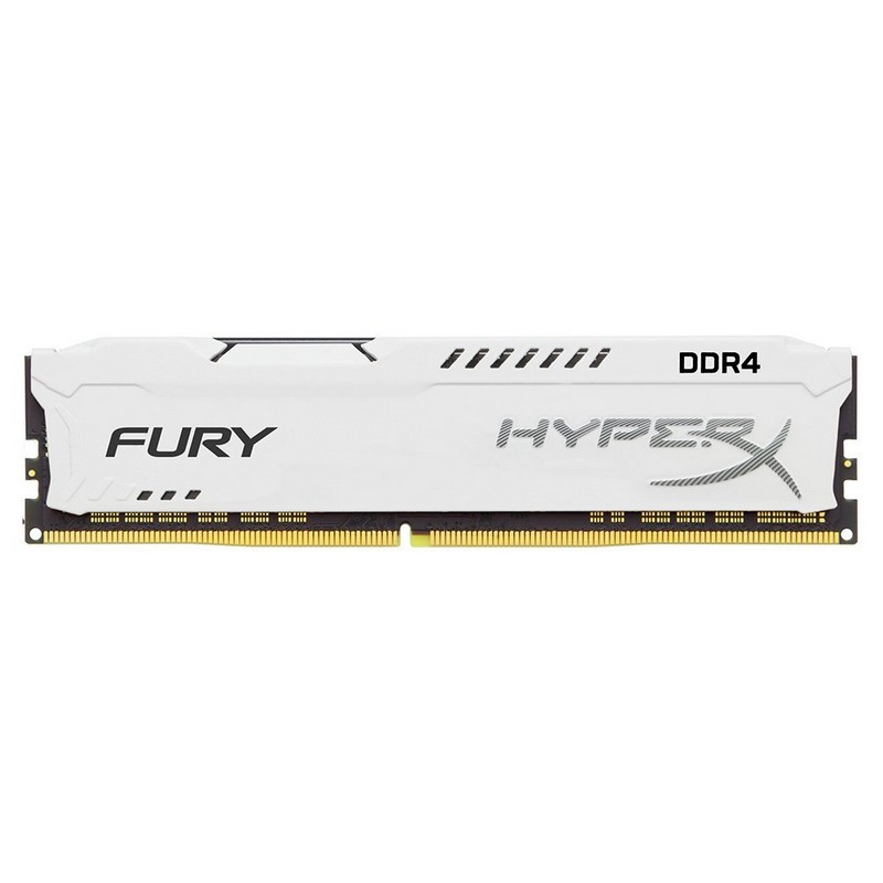 Kingston 8GB HX424C15FW2/8 2400MHz DDR4 CL15 DIMM 1RX8 Hyperx Fury White