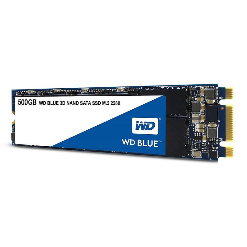 WD Blue 3D NAND SSD M.2 SATA 500GB CSSD Platform