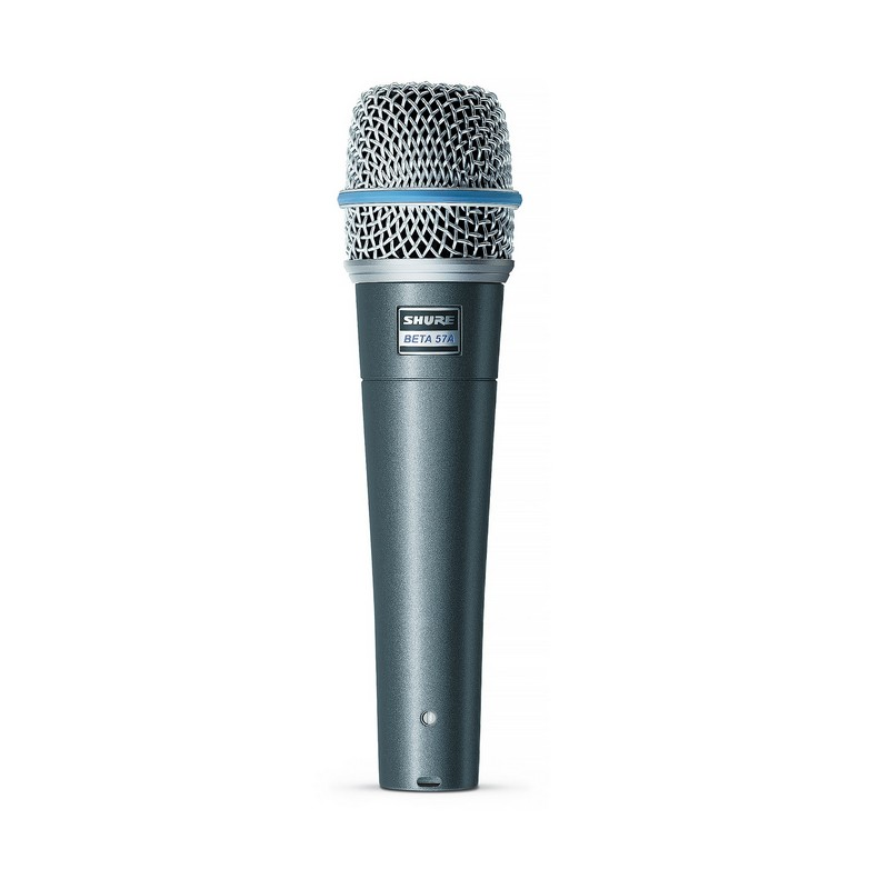 Shure Beta 57A Microphone Dynamic Lo Z Instrument SuperCardioid