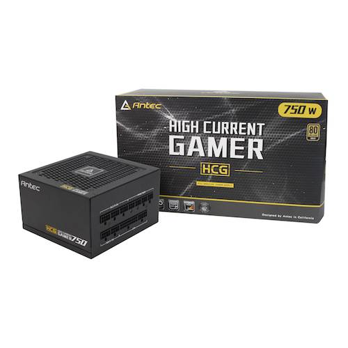 Antec High Current Gamer 750W Modular PSU 80+ Gold