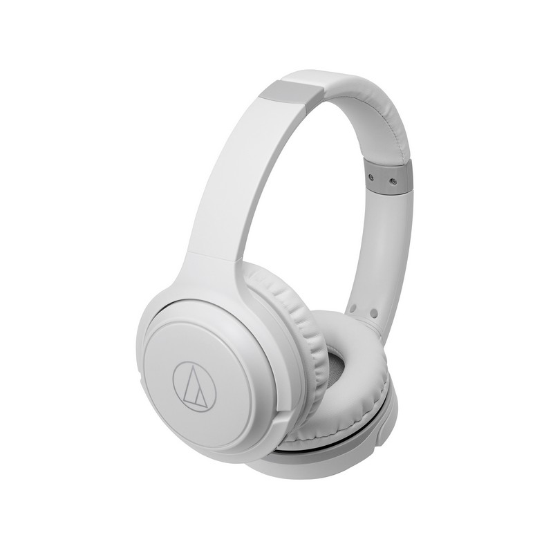 Audio Technica ATH-S200BT Wireless Over-Ear Headphones - White